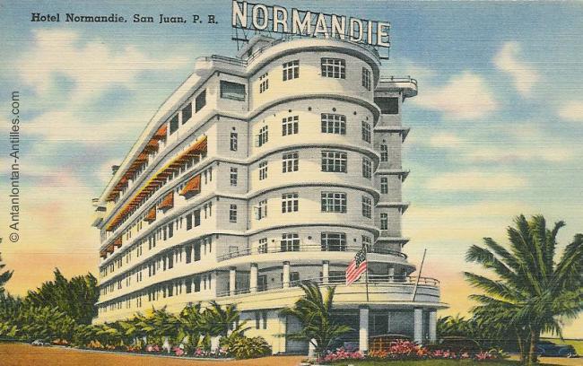 puerto-rico-lhotel-normandie-a-san-juan