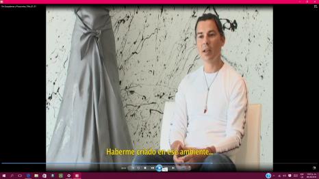 Fashion designer Gustavo Arango