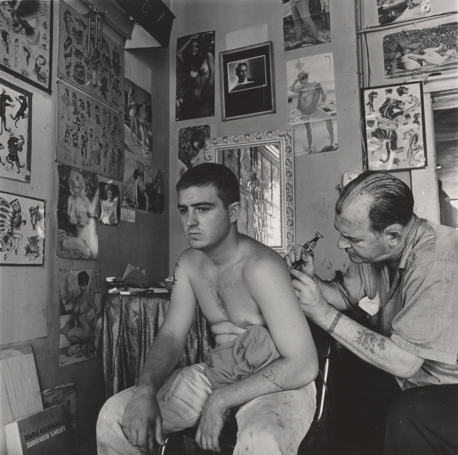 2015, Danny Lyon, Tattoo
