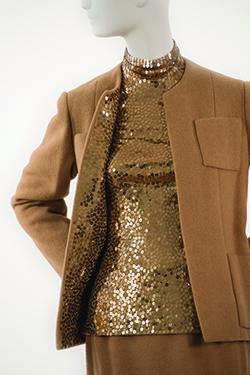 norell-camel-casmere-theatre-suit-with-sequins