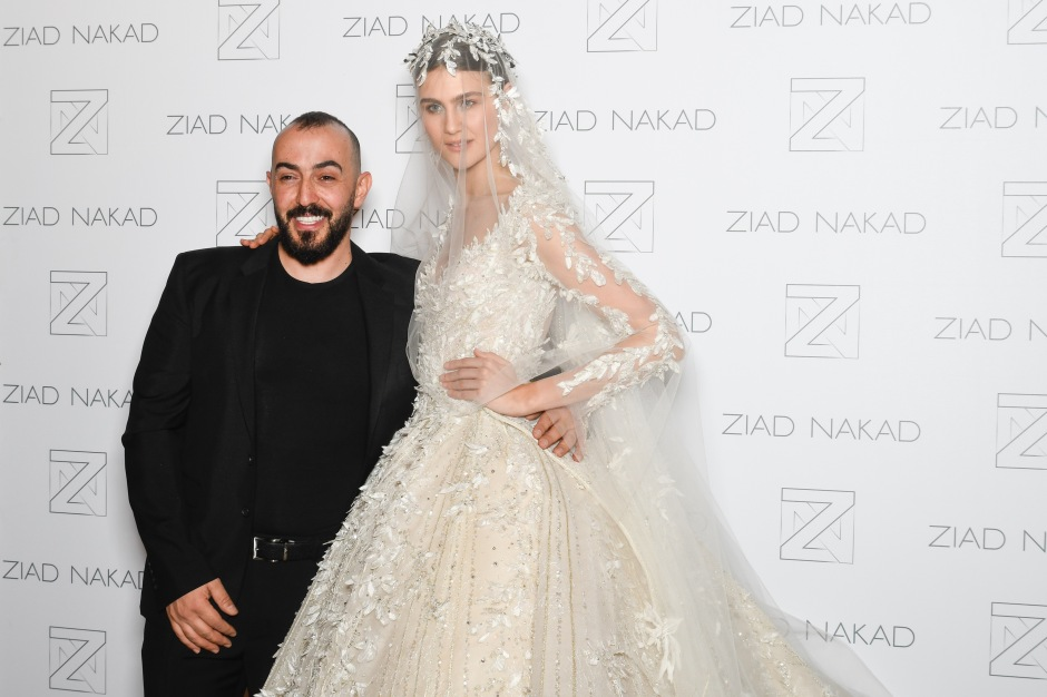 Ziad Nakad : Backstage - Paris Fashion Week - Haute Couture Spring Summer 2018