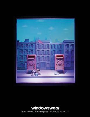 Tiffany & Company, New York, January 2017 A charming city block, a proprietary Pantone 1837 blue skyline, a paper flight of fancy, Tiffany & Company's window is a literal love letter to New York.