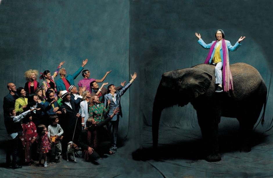 Kenzo-éléphant-Paris-1992-c-Jean-Marie-Périer-@Galerie-Photo-12-BD