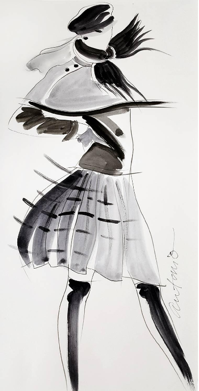 Screenshot-2018-4-6 Antonio Lopez - Vogue Magazine Illustration , Perry Ellis at 1stdibs - Copy