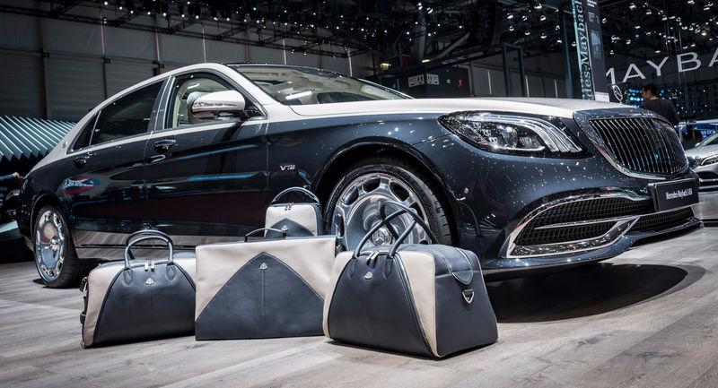 Maletas inspiradas en el lujo automovilístico
