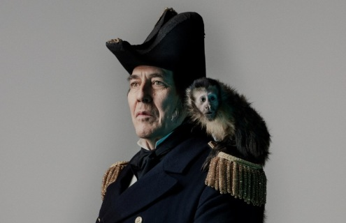 Sir John Franklin es interpretado por Ciarán Hinds