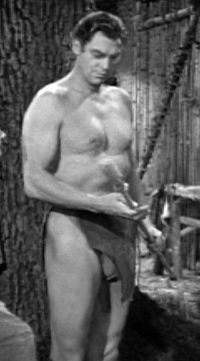 Weismuller en el pael que lo hizo una estrella, Tarzan