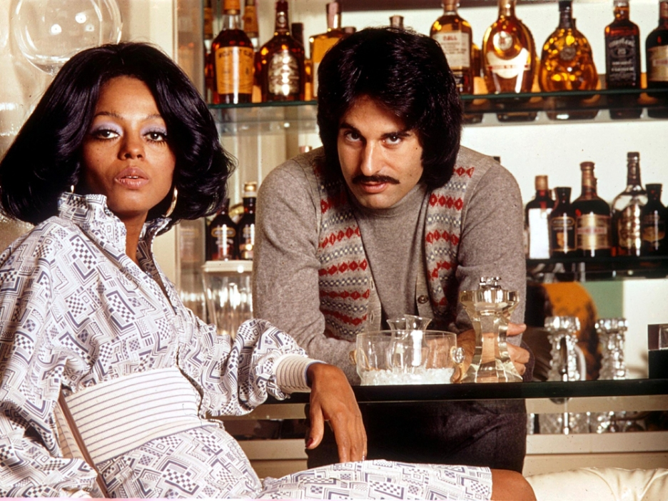 Mandatory Credit: Photo by GLOBE PHOTOS/REX (45826a) DIANA ROSS AND BOB SILBERSTEIN VARIOUS - 1973