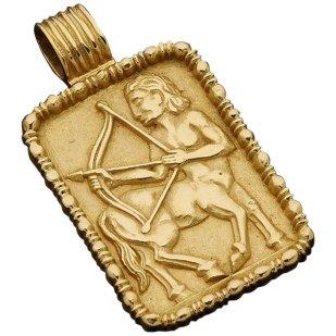 Fred of Paris Sagittarius pendant, ca. 1970