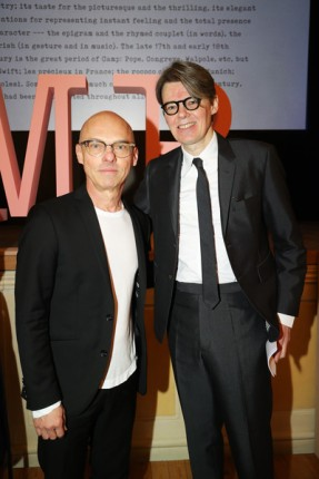 """Jan Versweyveld and Andrew Bolton attend the Press Event for The Costume Institute's spring 2019 exhibition """"Camp: Notes on Fashion"""""""