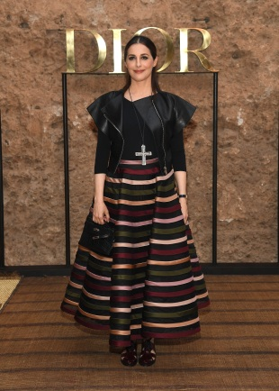MARRAKECH, MOROCCO - APRIL 29: Amira Casar attends the Christian Dior Couture S/S20 Cruise Collection on April 29, 2019 in Marrakech, Morocco. (Photo by Pascal Le Segretain/Getty Images for Dior)