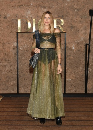 MARRAKECH, MOROCCO - APRIL 29: Elena Perminova attends the Christian Dior Couture S/S20 Cruise Collection on April 29, 2019 in Marrakech, Morocco. (Photo by Pascal Le Segretain/Getty Images for Dior)