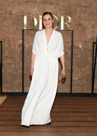 MARRAKECH, MOROCCO - APRIL 29: Emmanuelle Seigner attends the Christian Dior Couture S/S20 Cruise Collection on April 29, 2019 in Marrakech, Morocco. (Photo by Pascal Le Segretain/Getty Images for Dior)