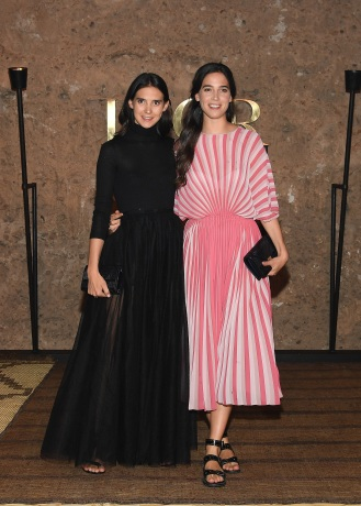 MARRAKECH, MOROCCO - APRIL 29: (L-R) Viola and Vera Arrivabene attend the Christian Dior Couture S/S20 Cruise Collection on April 29, 2019 in Marrakech, Morocco. (Photo by Pascal Le Segretain/Getty Images for Dior)