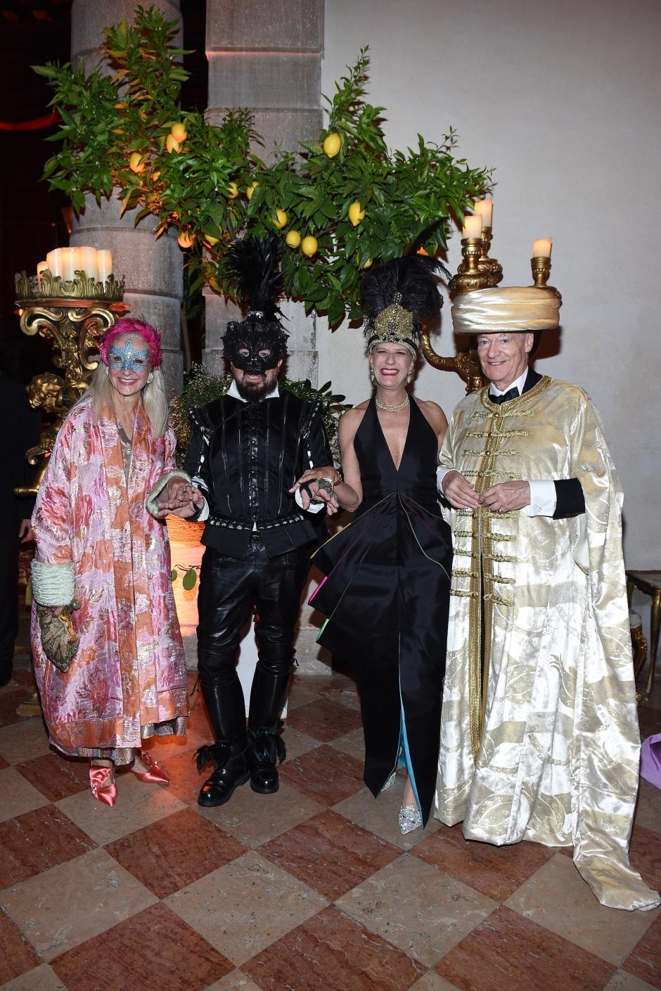 Peter Marino;Valentina Marini Clarelli;Amyn Aga Khan