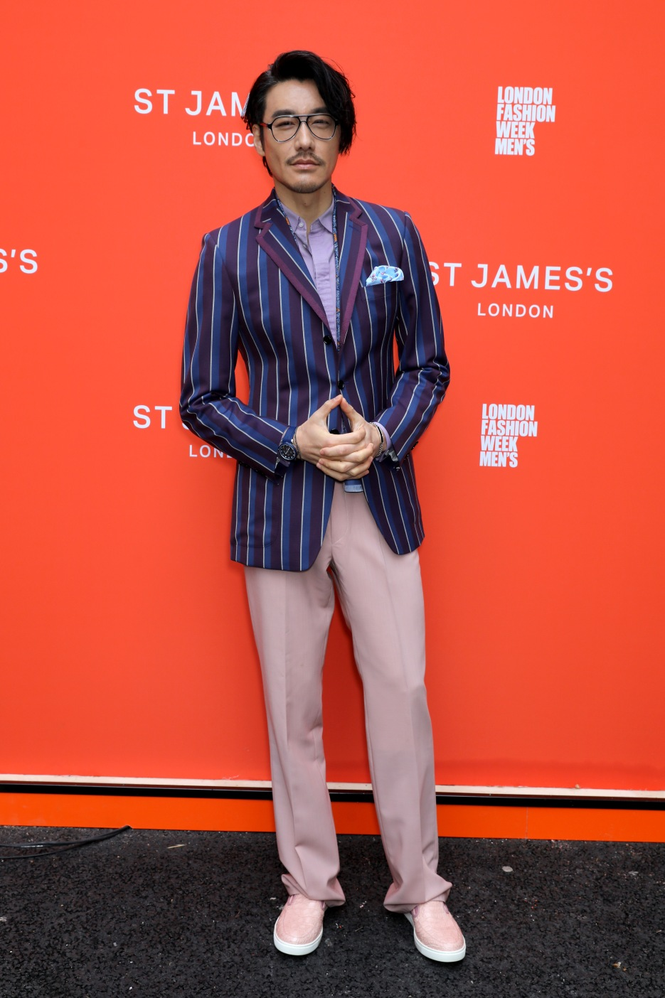 LONDON, ENGLAND - JUNE 08: Hu Bing attends St James's LFWM shows on June 08, 2019 in London, England. (Photo by David M. Benett/Dave Benett/Getty Images for St James's)
