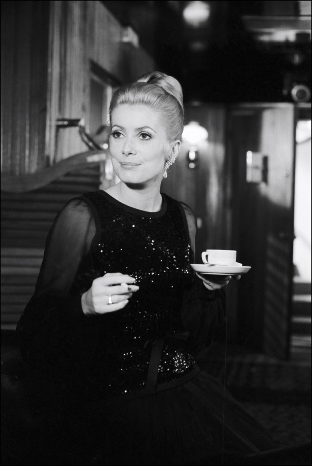 Catherine Deneuve in Yves Saint Laurent in La Chamade by Françoise Sagan (1968)