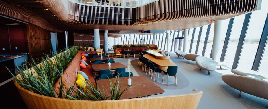 NEW: Gaia Lounge Dinning Area