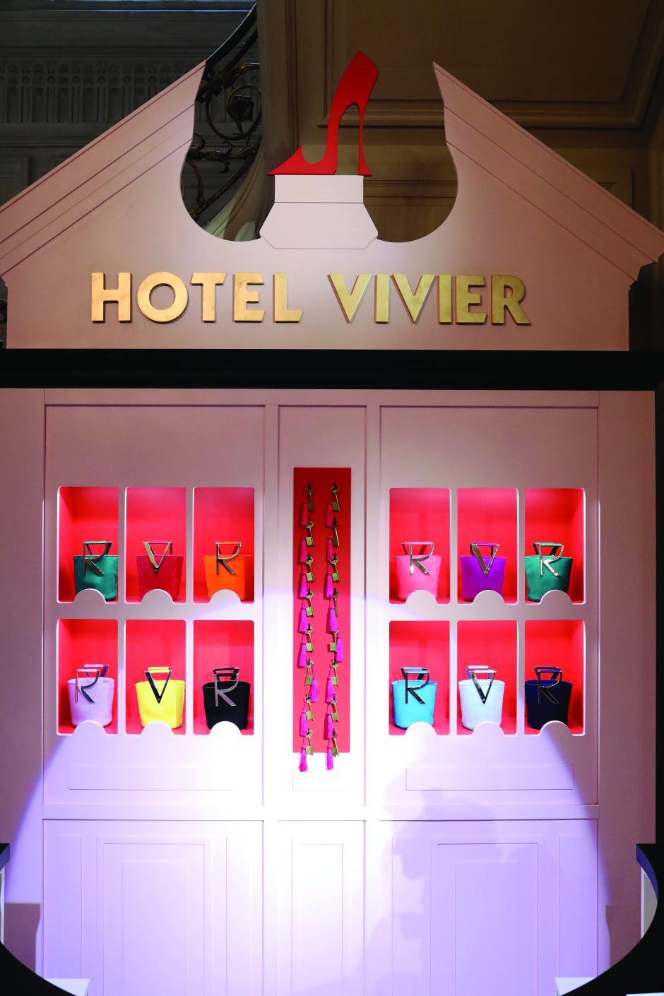 Roger Vivier: Press Day - Hotel Vivier - Paris Fashion Week - Womenswear Spring Summer 2020