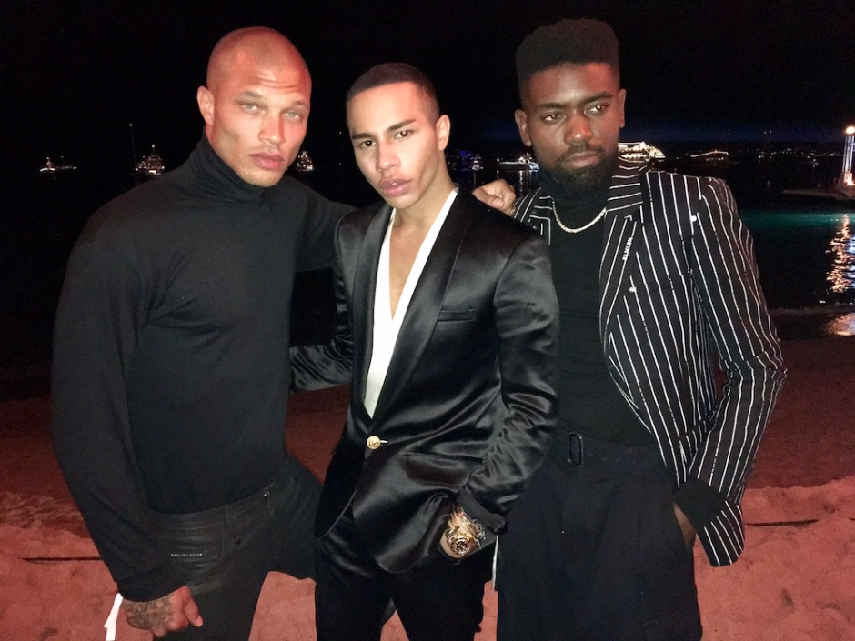 Prison-Bae-Jeremy-Meeks-meets-with-Olivier-Rousteing-and-Fashion-Director-Ugo-Mozie-on-Secret-Project