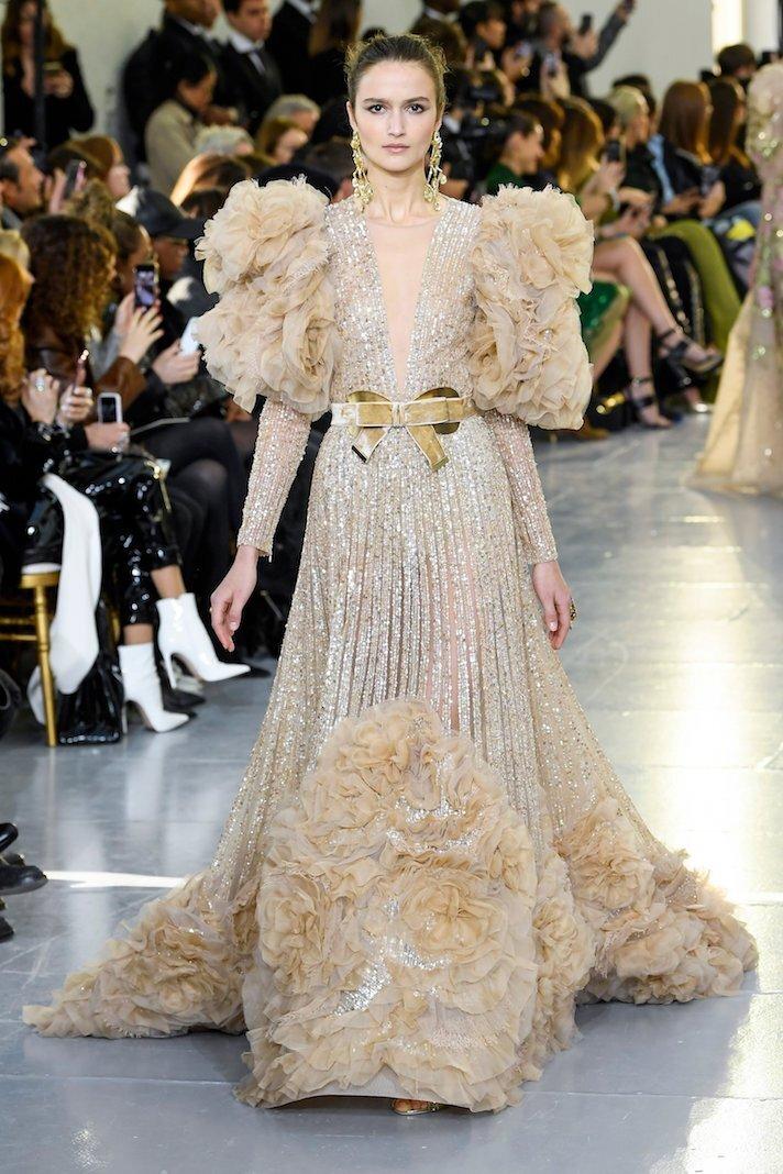 Elie Saab show, Runway, Spring Summer 2020, Haute Couture Fashion Week, Paris, France - 22 Jan 2020