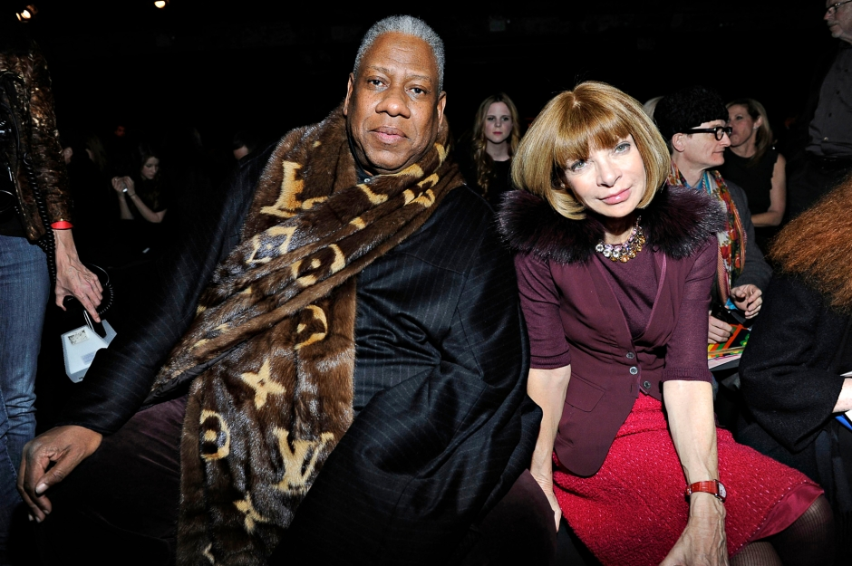 Donna Karan New York - Front Row & Backstage - Fall 2011 Mercedes-Benz Fashion Week